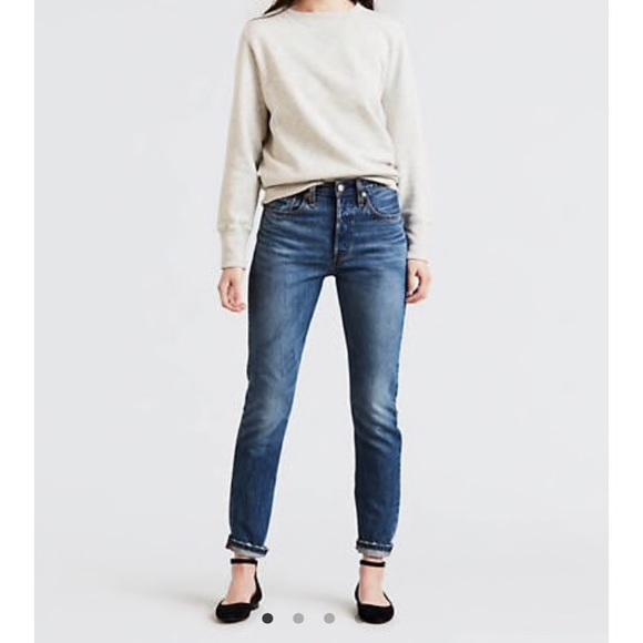 ede2f85a Levi's Jeans | Levis 501 Skinny Nonstretch In Medium Wash | Poshmark